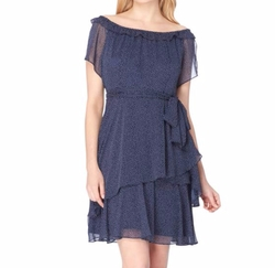 Tahari - Tiered Fit & Flare Dress