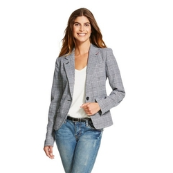 Merona - Plaid Tailored Blazer