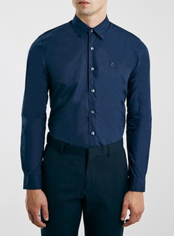 Peter Werth - Navy Long Sleeve Shirt