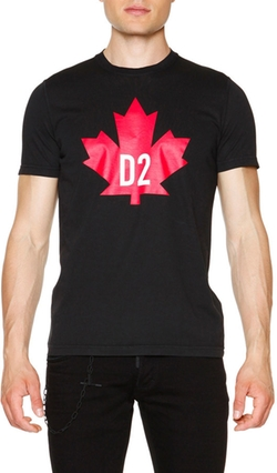 DSquared2 - Maple Leaf Short-Sleeve Graphic T-Shirt