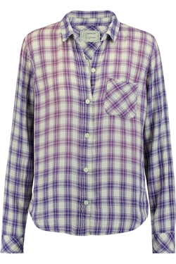 Current/Elliott - Slim Boy Checked Cotton Shirt