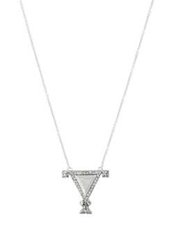 House of Harlow 1960 Jewelry - Tres Tri Necklace