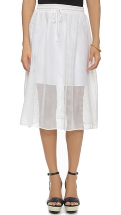 Clover Canyon  - Square Mesh Skirt
