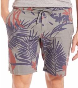 Eleventy  - Flower-Print Bermuda Shorts