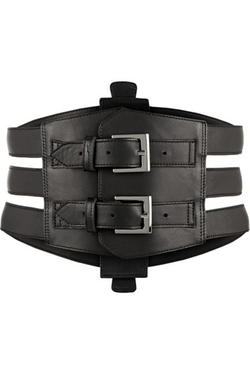 Kiki De Montparnasse - Buckled Leather Waist Belt