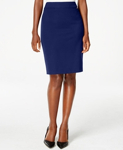 Tahari ASL - Solid Pencil Skirt