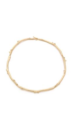 Aurelie Bidermann  - Rosebud Choker Necklace