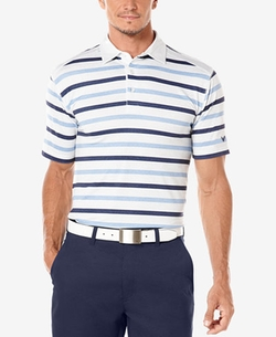 Callaway - Heather Striped Golf Polo Shirt