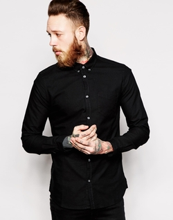 Dr Denim  - Shirt Pete Button Down Oxford