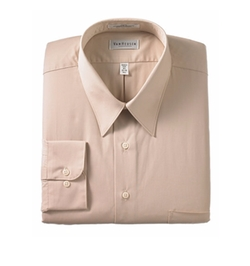 Van Heusen - Wrinkle-Free Poplin Dress Shirt