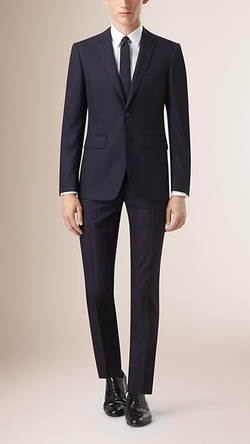 Burberry - Slim Fit Wool Suit