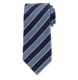 Ermenegildo Zegna - Striped Silk Tie