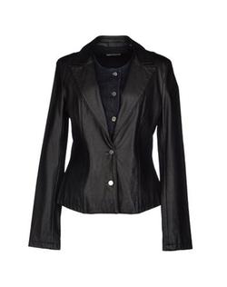 Met - Leather Blazer