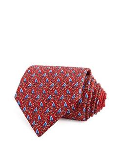 Thomas Pink - Bird On Branch Classic Tie