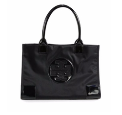 Tory Burch - Ella Mini Nylon & Faux Leather Tote Bag