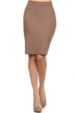 Brightly - Midi Flattering Pensil Skirt