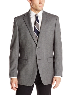 Donald Trump  - Two Button Side Vent Herringbone Sport Coat