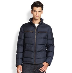 Cole Haan - Packable Down Moto Jacket