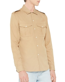 Sandro - Jeep Slim Fit Button Down Shirt
