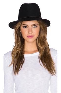 Janessa Leone - Onyx Hat