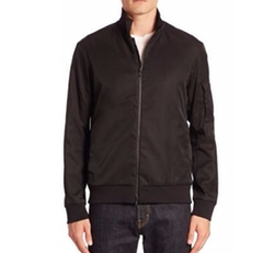 Theory  - Ronin Solid Bomber Jacket