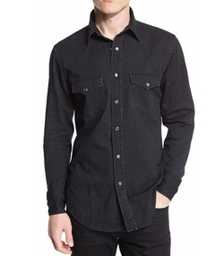 Tom Ford - Western-Style Tailored Denim Shirt