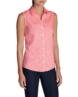 Eddie Bauer - Sleeveless Printed Shirt