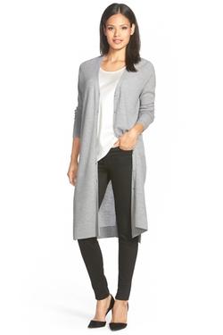 Classiques Entier - Long Merino Wool Cardigan