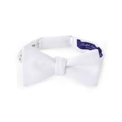 Ralph Lauren - Solid Cotton Piqué Bow Tie