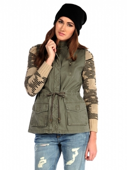 Blu Pepper - Jane Military Jacket