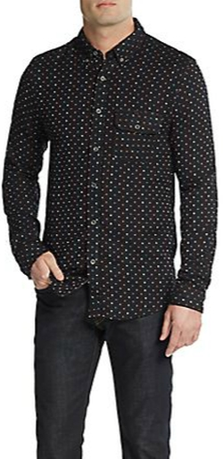 Burkman Bros - Multicolored Dot Sportshirt