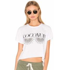 The Laundry Room - Coconuts Crop Tee