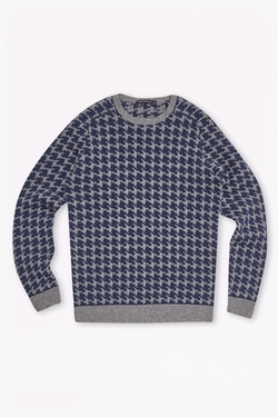 French Connection - Dogtooth Wool Knit