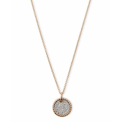 David Yurman - Diamond Pave Pendant Necklace