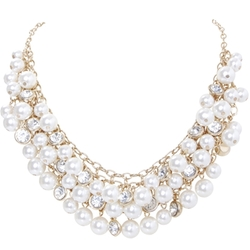 Humble Chic - Pearl Bubble Necklace