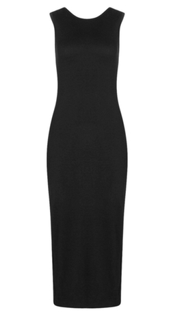 Boohoo Basics - Lindsey Sleeveless Midi Dress