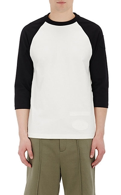 Alexander Wang - Appliquéd French Terry T-Shirt