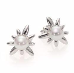 Majorica  - Spiked Stud Earrings