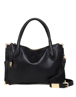 Foley & Corinna - Frankie Leather Frame Satchel Bag
