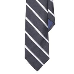 Ralph Lauren - Striped Silk Repp Narrow Tie