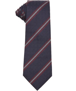 Gucci - Diagonally Striped Silk Tie