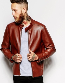 Asos - Faux Leather Jacket