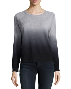 360Cashmere - Cashmere Skull Ombre Sweater