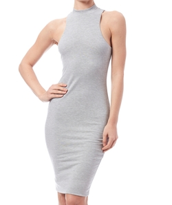 Lux LA - Mock Neck Dress