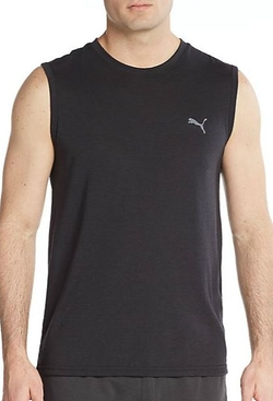 Puma -  Logo Muscle Tank Top