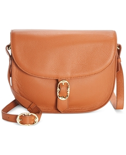 Emma Fox  - Leather Dales Saddle Crossbody Bag