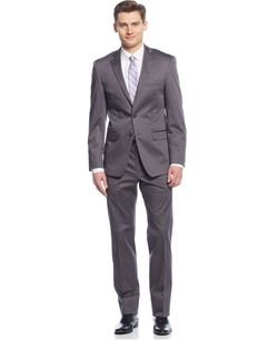 Calvin Klein - Cotton Slim-Fit Suit
