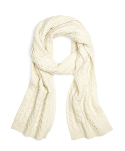 Brooks Brothers - Cable Knit Scarf