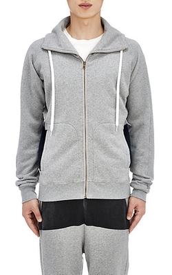 Tomas Maier - Fleece Zip-Front Hoodie