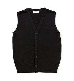 Turnbury - Merino Wool Button-Front Sweater Vest